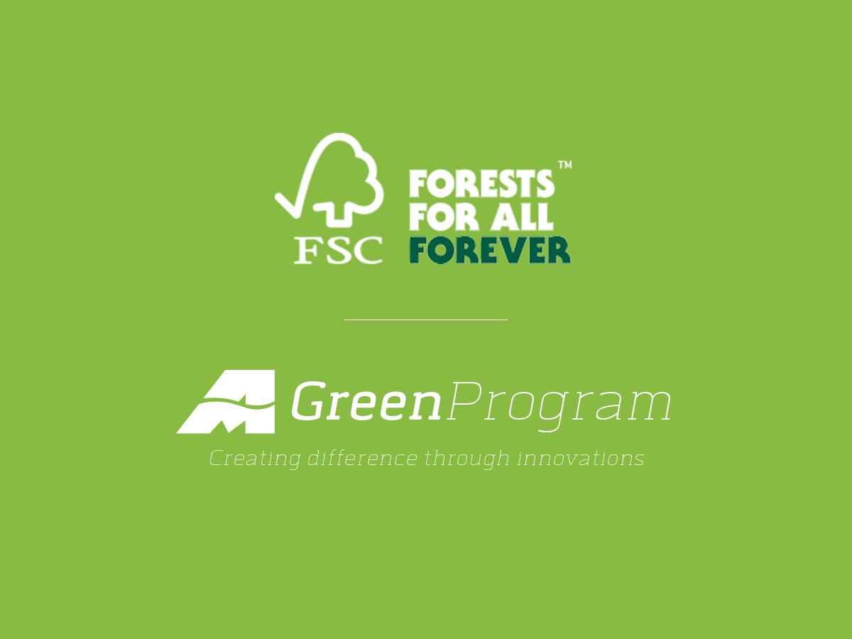 Automar Green Program: carta certificata FSC